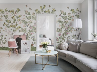 Mural de pared R16744 Chinoiserie Chic imagen 1 por Rebel Walls