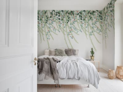 Murale R16783 Lush Foliage ​​immagine 1 di Rebel Walls
