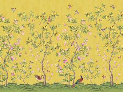 Fototapet R16745 Chinoiserie Chic, Saffron imagine 1 de Rebel Walls