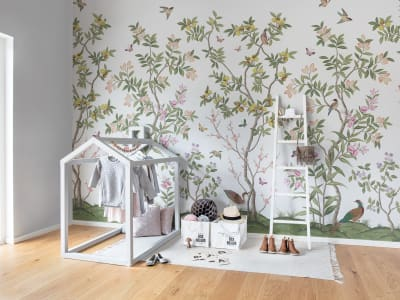 Wall Mural R16744 Chinoiserie Chic image 1 by Rebel Walls