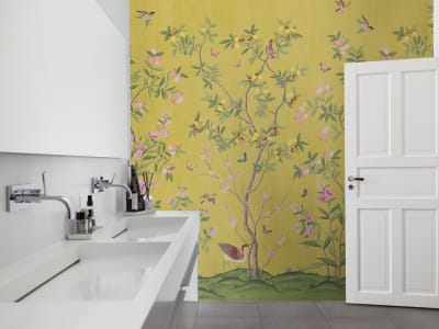 Tapete R16745 Chinoiserie Chic, Saffron Bild 1 von Rebel Walls