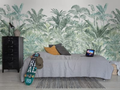 Décor Mural R15902 Pride Palms, Emerald image 1 par Rebel Walls