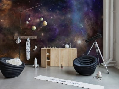 Murale R16911 Star Galaxy ​​immagine 1 di Rebel Walls