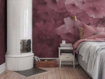 Wall Mural R17071 Harmony, Fuchsia image 1 by Rebel Walls