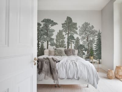 Wall Mural R17202 Scandinavian Bellewood, Frost image 1 by Rebel Walls