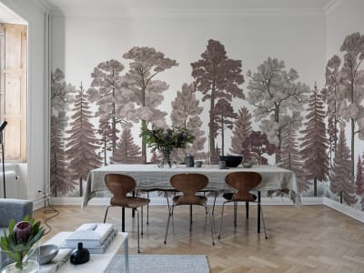 Décor Mural R17203 Scandinavian Bellewood, Dawn image 1 par Rebel Walls
