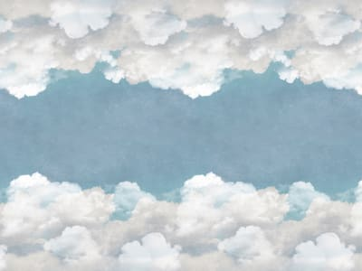 Tapete R14012 Cuddle Clouds, Ceiling Bild 1 von Rebel Walls