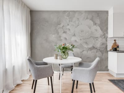 Mural de pared R17073 Harmony, Gray imagen 1 por Rebel Walls