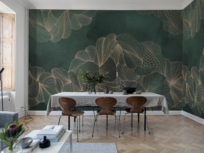Wall Mural R17093 Opulence, Jade image 1 by Rebel Walls