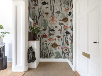 Mural de pared R17144 Aquatic Life imagen 1 por Rebel Walls