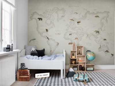 Mural de pared R17231 Animal World imagen 1 por Rebel Walls