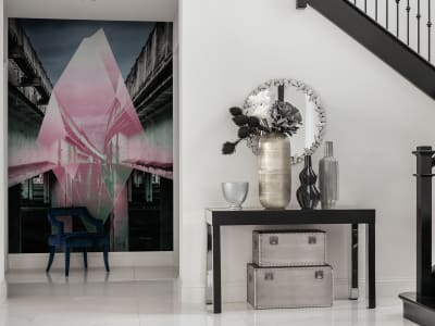Murale R17321 Sparkling City ​​immagine 1 di Rebel Walls