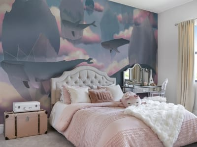 Wall Mural R17341 Floating Diamonds image 1 by Rebel Walls