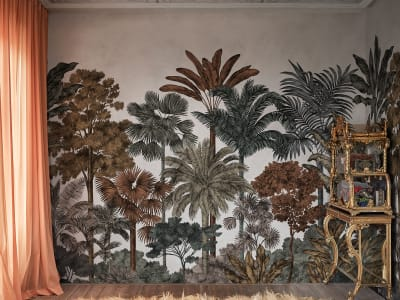 Mural de pared R17591 Tropical Bellewood imagen 1 por Rebel Walls