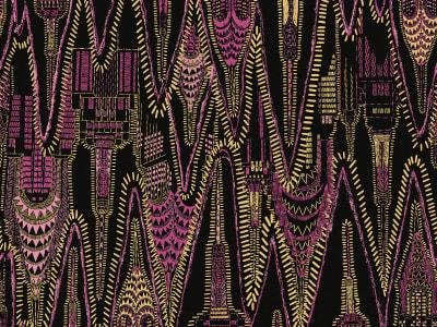 Tapete R17961 Manhattan, Disco Hour Bild 1 von Rebel Walls