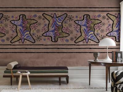 Tapete R17953 Zebra Skin, Coco Bild 1 von Rebel Walls
