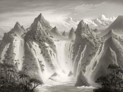 Décor Mural R17353 Fantasy World, Vintage image 1 par Rebel Walls