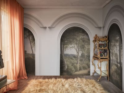 Tapeta ścienna R16301 Forest Vaults obraz 1 od Rebel Walls