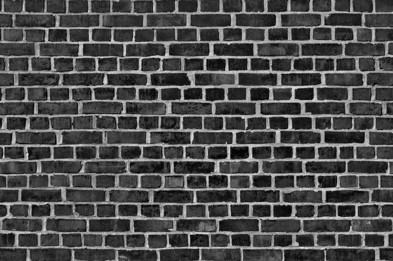 Brick Wall Black R10962 Rebel Walls