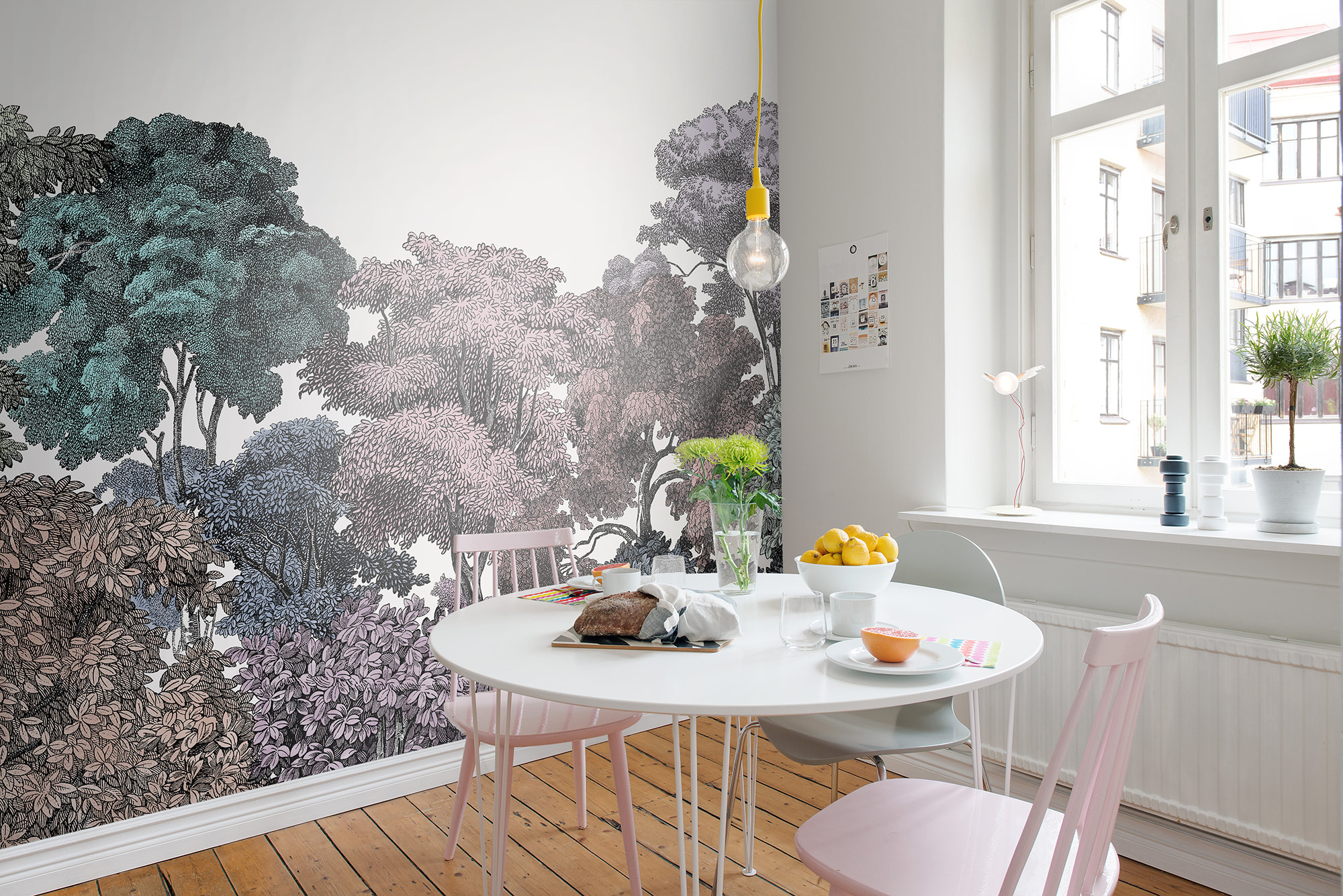 Rebel Walls Is Launching Greenhouse – A Verdant Wallpaper Collection Where Vintage Meets Modern Designs