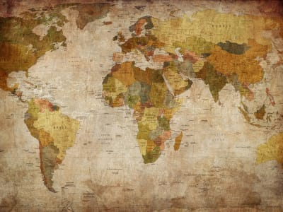 Wall Mural R10771 World Map image 1 by Rebel Walls