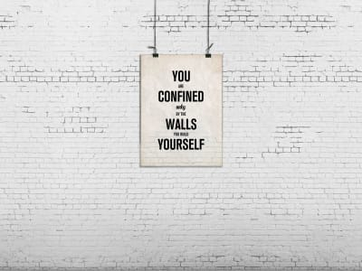 Tapet R12404 Poster, brick wall bilde 1 av Rebel Walls