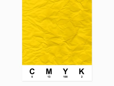 Mural de pared R12534 CMYK, yellow imagen 1 por Rebel Walls