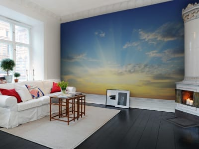 Mural de pared R10171 Sunrise imagen 1 por Rebel Walls