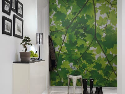 Mural de pared R10181 Maple Leaves imagen 1 por Rebel Walls