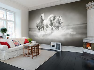 Murale R10201 Horses ​​immagine 1 di Rebel Walls