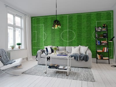 Wall Mural R10351 Football image 1 by Rebel Walls