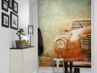 Wall Mural R10551 The Experienced Car image 1 by Rebel Walls