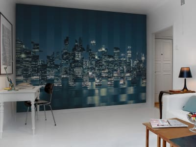 Wall Mural R10682 Big Apple Squares image 1 by Rebel Walls