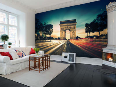 Mural de pared R10691 Arc de Triomphe imagen 1 por Rebel Walls
