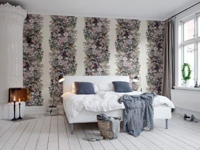 Mural de pared R13132 Flowerbed, Vintage imagen 1 por Rebel Walls