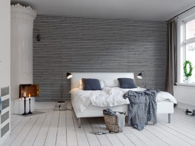 Wall Mural R11011 Wooden Slats image 1 by Rebel Walls