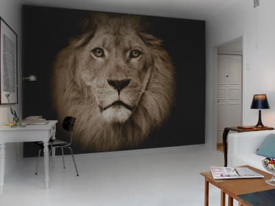 Mural de pared R11101 Lion imagen 1 por Rebel Walls