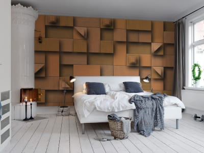 Mural de pared R11291 Carved Wood imagen 1 por Rebel Walls