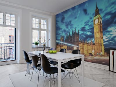 Mural de pared R11301 Big Ben imagen 1 por Rebel Walls