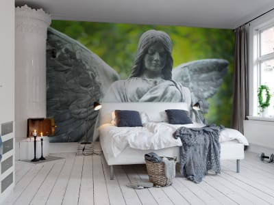 Mural de pared R11331 Garden Sculpture imagen 1 por Rebel Walls