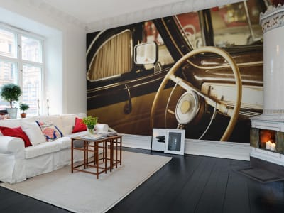 Wall Mural R11441 The old Car image 1 by Rebel Walls
