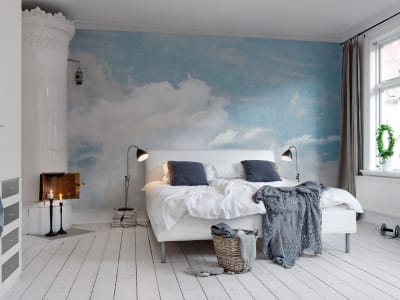 Mural de pared R11451 Cloud Puff imagen 1 por Rebel Walls