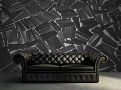 Tapete R11512 Books, black Bild 1 von Rebel Walls