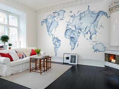Mural de pared R11721 Water World imagen 1 por Rebel Walls