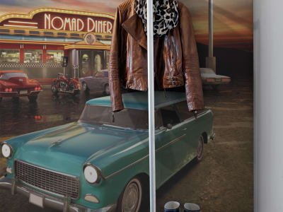 Wall Mural R11841 Nomad Diner image 1 by Rebel Walls