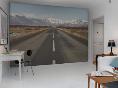 Wall Mural R12041 Winter road image 1 by Rebel Walls