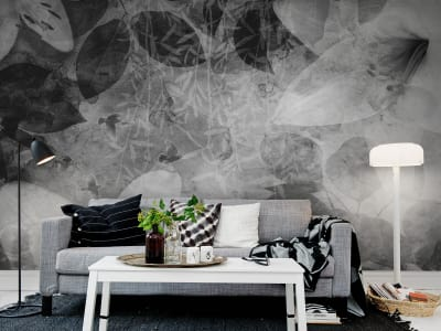 Wall Mural R12062 Garden of Dreams, black & white image 1 by Rebel Walls