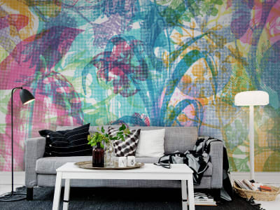 Mural de pared R12021 Jelly Belly Plants imagen 1 por Rebel Walls