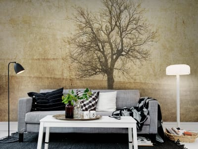 Mural de pared R12081 The Lonely Tree imagen 1 por Rebel Walls