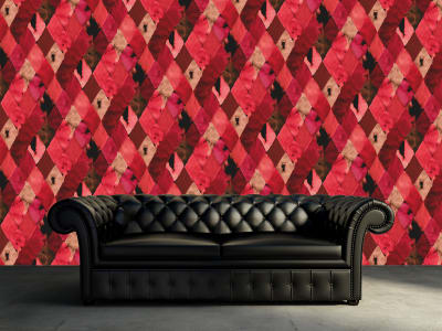 Wall Mural R12231 Harlequin, red image 1 by Rebel Walls